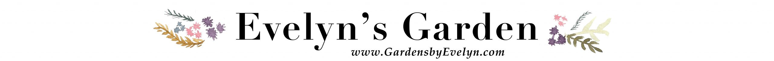 Evelyn's Garden Logo